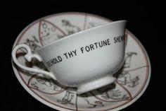 Royal Doulton Tea Reading Cup Side