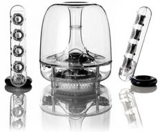 CultofMac: Harmon Kardon's Wireless SoundSticks Are A Little Bit Of Jambox And A Whole Lot Of Jony Ive [Review]