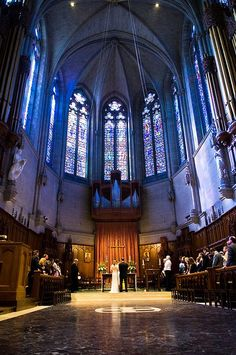 The Great Quire at Grace Cathedral - ceremony
