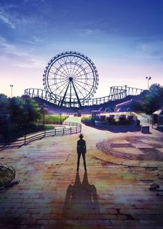 Kyoto Animation's Amagi Brilliant Park Slated to Air This Fall - News - Anime News Network:SEA Kimi No Na Wa, Noragami, Haikyuu, Manga Anime, Anime Art, Manga Girl, News Anime, Amagi Brilliant Park, Kyoto Animation