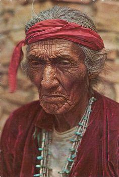 "1970's Navajo Medicine Man, ""Saltwater"""