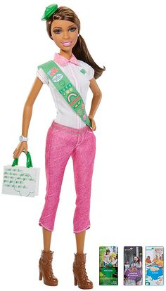 Barbie Love Girl Scouts African American Doll