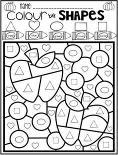 6 Bee Themed Shapes Coloring Pages | Jeux educatif pour ...