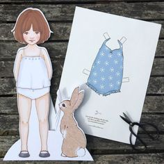 Free Download - Dress Up Doll Swimming Outfir by Belle & Boo