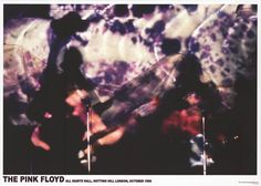 """A great poster of Syd Barrett and Pink Floyd obscured by clouds of psychedelic liquid light in London in 1966! Ships fast. 24x33 inches. Take some """"Time"""" to check out the rest of our amazing selection                                                                                                                                                                                 More"""