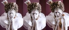 The Virgin Queen   Concept | Make Up & Hair _ Raffaella Fiore  Model | Maura Di Vietri Photographer | Carola Ducoli