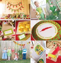 AMAZING Peter Pan Party {+ Kids Costumes} by RV Parties!