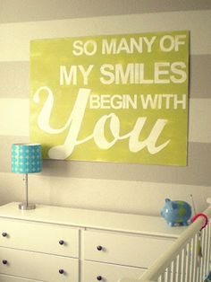 Nursery decor: 10 adorable quotes for the wall - Today's Parent