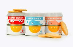 Coupled Can BrandingTwin Wave Snack Kit demonstrates. Sharon Hsiao concept. I was going to say let's grab a snack that's too cute to eat #packaging PD
