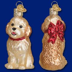 Look at this adorable little puppy! The Cockapoo Puppy ornament is just too cute to leave on the shelf! Visit your local retailer to take this sweet puppy home today! ‪#‎OrnamentoftheDay‬ ‪#‎CockapooPuppy‬ ‪#‎OldWorldChristmas‬