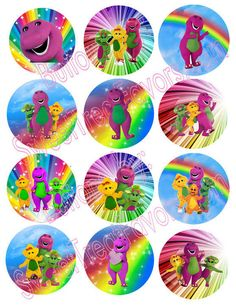 BArney Party Favors Pins Buttons Treats Supplies Decoration by Hallm: 12 BArney Party Favors Pins Buttons Treats Supplies Decoration Approx size 2 in Barney Birthday Party, Barney Party, Boy Birthday Parties, Baby Shower Parties, Birthday Party Invitations, 2nd Birthday, Party Favors, Shower Party, Dinosaur Images