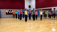 Feeling Hot - Line Dance (Dance & Teach in English & 中文)