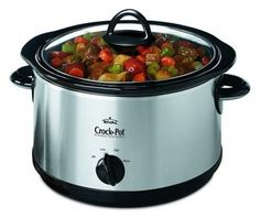 Crock pots make life easier.