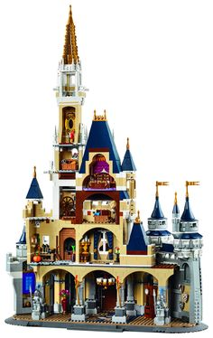 Disney Lego 71040 WDW Magic Kingdom Castle 4080 pcs 5 Minifigures Includes 5 minifigures: Mickey Mouse with a tuxedo, Minnie Mouse with red dress, Donald Duck with classic outfit, Daisy Duck with pink Lego Disney Castle, Lego Castle, Disney Pixar, Walt Disney World, Disney Movies, Disney Theme, Lego Design, Lego Minecraft, Lego City