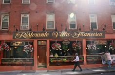 Little Italy of Boston in the North End