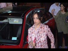 Divya Dutta in a transparent see through dress at the screening of BADLAPUR.
