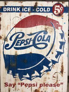 Weird Vintage, Vintage Ads, Vintage Signs, Weathered Paint, Dog Shop, West Art, Antique Signs, Pepsi Cola, Old Signs