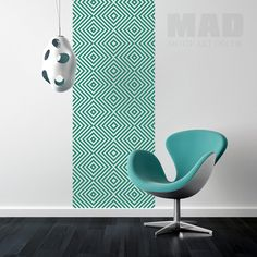 WALL STICKER WALLPAPER :::GEOMETRIC pattern Nr.02: de M.A.D Motif Art Decor sur DaWanda.com