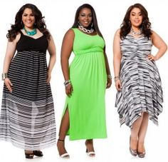 Trendy dresses Spring / Summer for plus size ladies: 40 photos |Curvy fashion and Beauty. Trends for plus size girls
