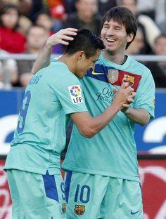 Mallorca 0 - FCB 2. Goals: Messi (min 25), Piqué (min. 78)