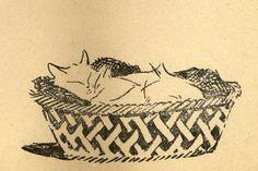 Kiki la Doucette. Jacques Nam (illustration pour ''Cinq Dialogues de Bêtes'' de Colette)