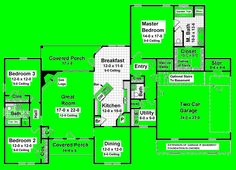House Plan chp-15551 at COOLhouseplans.com