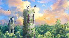 Ravens Tower by Tohad.deviantart.com on @deviantART
