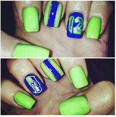 Seahawks nails!