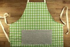 Tuto : un tablier de cuisine en tissu 14