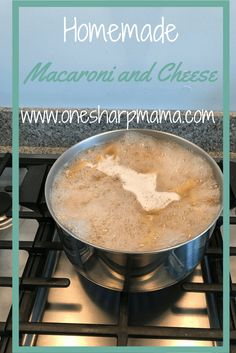 macaroni and cheese recipe, favorite home made side