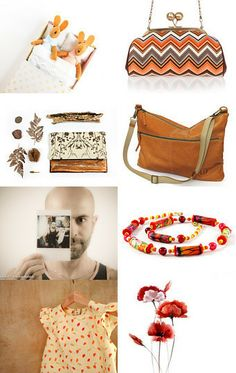 here and there by Mirella on Etsy