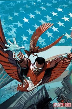 Wish they didn't change the falcon's costume for Captain America: The Winter Soldier