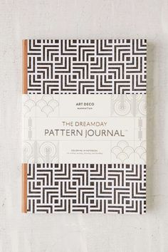 Art Deco Manhattan Dreamday Pattern Journal