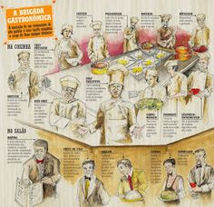 Armazém do Chef: Qual a diferença entre cozinheiro, chef de cozinha,gastrônomo e gastrólogo.