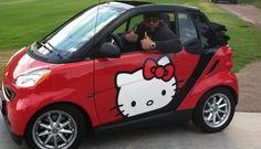 Hello Kitty #car #wrap