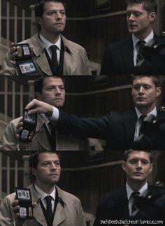 Supernatural-- Castiel... haha