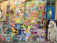 Fun graffiti in Tel Aviv, Israel by Rami Meiri  #telAviv #Israel   MADEinISRAEL photos by Elyssa  Frank ©2012