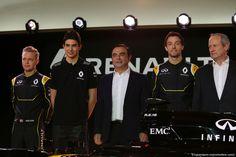 RENAULT F1 PRESENTAZIONE 2016