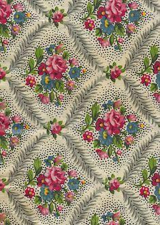 Vintage Fabric---great sashing idea