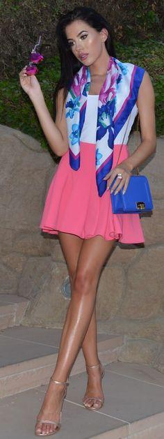 Candy Crush Outfit Idea by Laura Badura Fashion