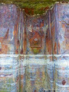 Seafoam Tidemark on Rusty Iron 8 Rust Paint, Terraces, Sea Foam, Decay, Cleveland, Iron, Colours, Painting, Decks