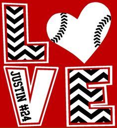 Chevron LOVE T-Shirt, Baseball mom, football mom, soccer mom shirt, basketball mom shirt by The Walnut Street House on Etsy, $23.00