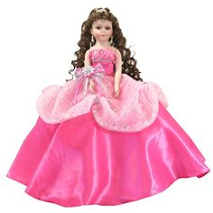 Long Curly Hair, Curly Hair Styles, Ribbon Bouquet, Quinceanera Party, Barbie, Flower Decorations, Color Change, Aurora Sleeping Beauty, Fancy