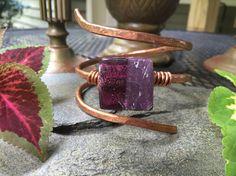 Single Wrap flathead bracelet with two-toned by HammerandWire