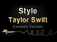Style - Taylor Swift Karaoke Track   Sing King Karaoke on YouTube Karaoke Tracks, Karaoke Songs, Uptown Funk, Taylor Swift Style, 20 Years, Cool Kids, Singing, King, My Love