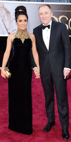 Salma Hayek. All the Star Arrivals at the Oscars! : People.com