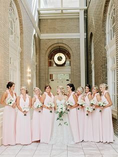 === — — — — — — — — — — — — — — — — — === How did y'all meet? Tell us your love story. We met at a college football game in September of 2010 when my Alma Mater, University of Alabama, hosted a game against Pete's Alma Mater, Pennsylvania State … Blush Pink Bridesmaid Dresses, Wedding Dresses, Floral Wedding, Wedding Colors, Georgian Terrace, Diy Wedding Video, Gold Wedding Decorations, Southern Weddings, Wedding Inspiration