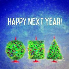 It is the current year! Happy number increase! Does my universal greeting really work? Let's find out.#2017 #greetingcards #newyear #2016 #holiday