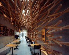 Cafetería Starbucks en Dazaifu, prefectura de Fukuoka (Japón)