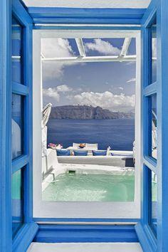 My Blue - Santorini Cave House